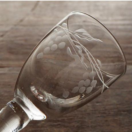 no308  葡萄のミニグラス