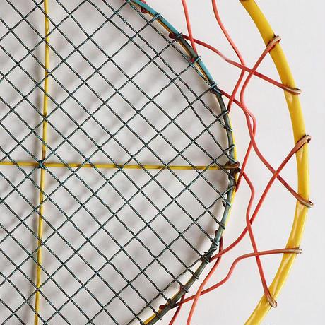 no762  カラフルワイヤーバスケット