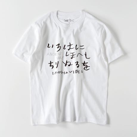 SATSUMA いろは歌 Tシャツ(ホワイト・ブラック XS/S/M/L/XL/XXL)