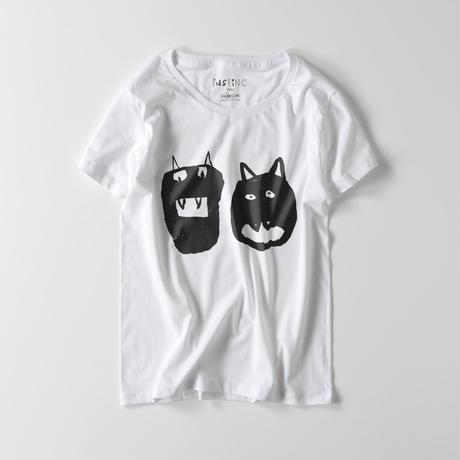 オニちゃんmono ライトウェイトTシャツ(レディース ホワイト・グレー・ブラック S/M/L)