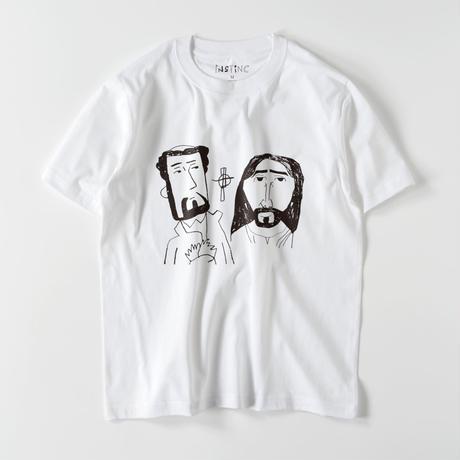 SATSUMA キリスト教伝来 Tシャツ(ホワイト・グレー・ブラック XS/S/M/L/XL/XXL)