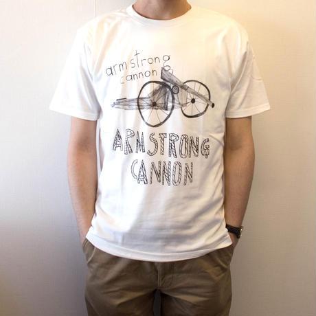 アームストロング砲 Tシャツ オフホワイト(S/M/L)
