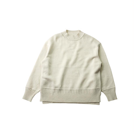 WOOL KNIT PULL OVER