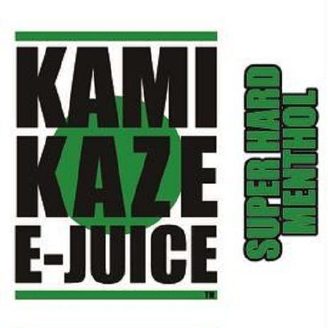 【純国産】KAMIKAZE E-JUICE 15ml 電子タバコ VAPE用リキッドジュース  SUPER HERD MENTHOL