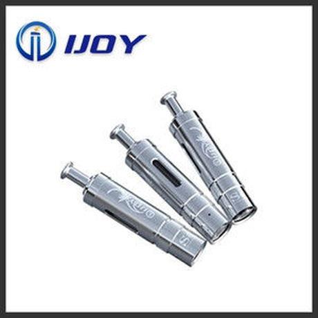 IJOY社製個性的なデザインでステンレスメッキがかっこいい! IJOY アイジョイ trend vapes s6 atomizer
