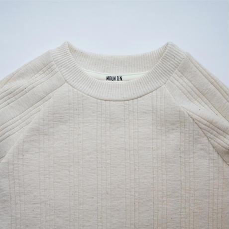 Vintage Rib Long Sleeve (ecru) / MOUN TEN.