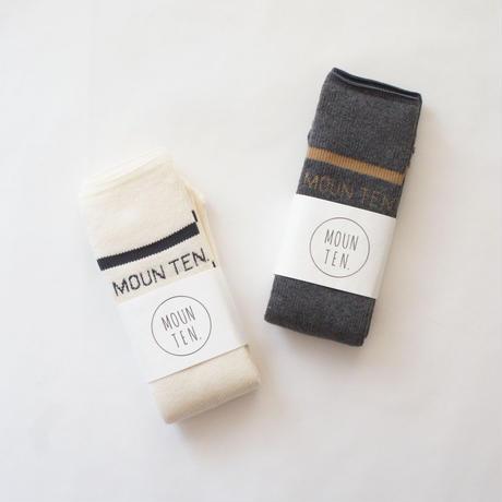 MOUN TEN. Line Socks / MOUN TEN.
