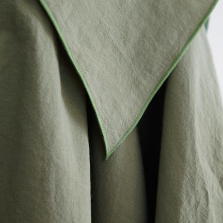 ※OUTLET  Acne Shirts (khaki green) M size / folkmade