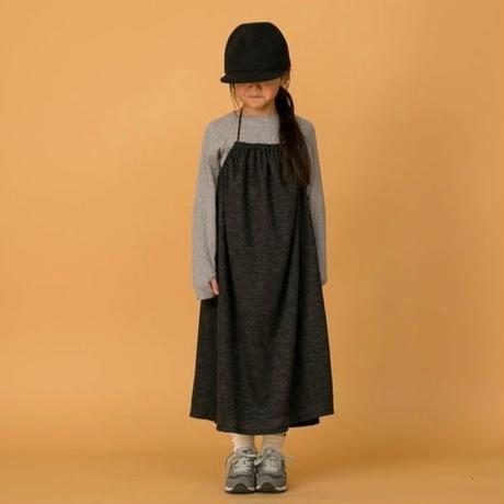 Wool Blend Dress (charcoal) / MOUN TEN.