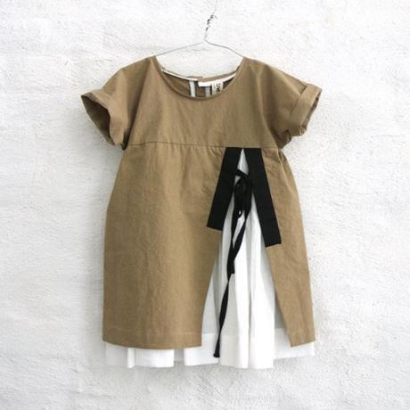 ANA dress (amber) / TREE HOUSE