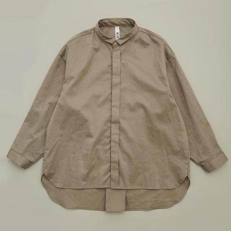 80/1 Washer Big Shirts (greige) / MOUN TEN.
