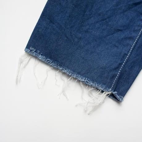 Wide Cropped Denim (vintage blue/size 0) / MOUN TEN.