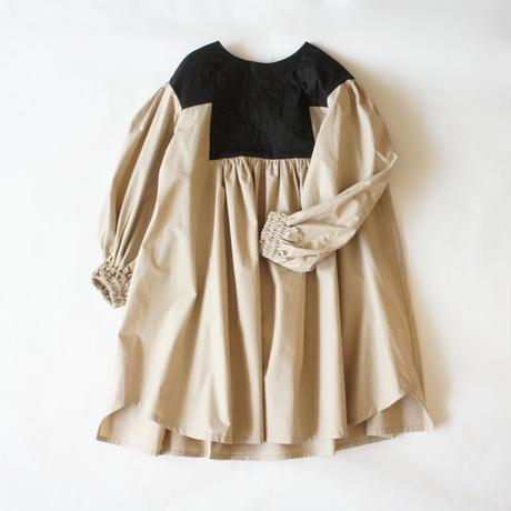 Quilt Gather Dress ( M ) / folkmade