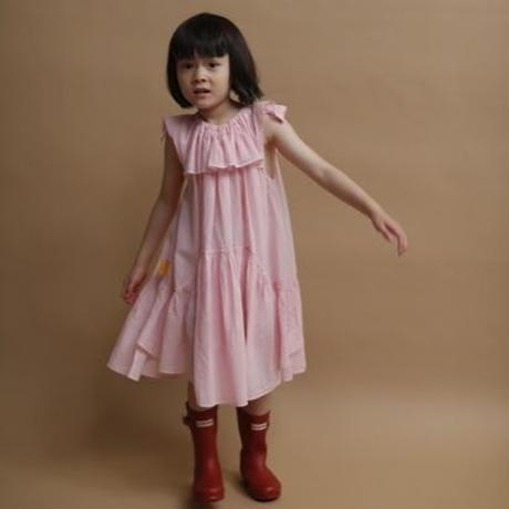 Machilda dress (pink) / folkmade