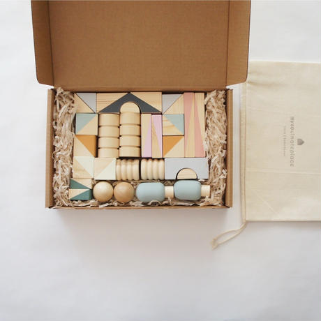 Wooden Blocks Set (30pcs) / mysoulmateplace
