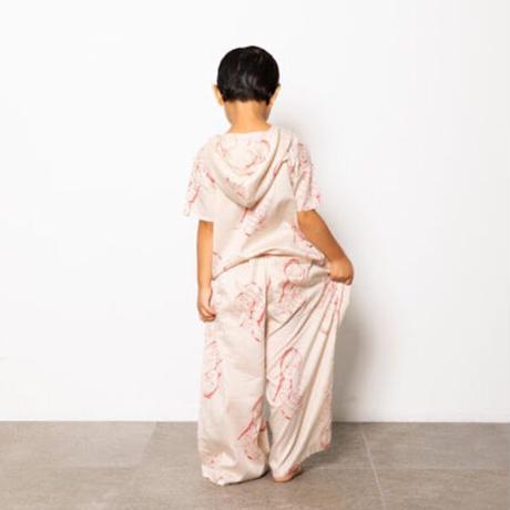Face Print Pants ( beige  / S,M,L ) / folkmade