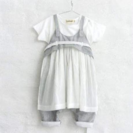 ODA overall (stance fine stripe) / ANJA SCHWERBROCK
