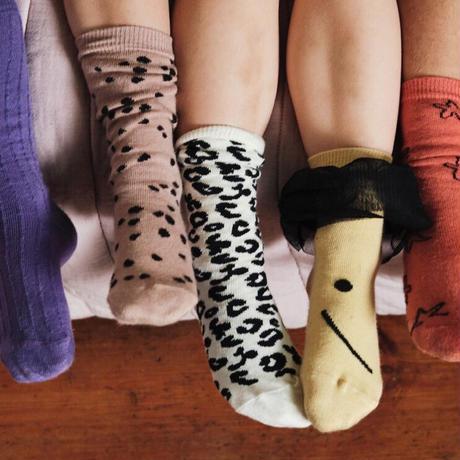 Smiling Suni Socks / maed for mini