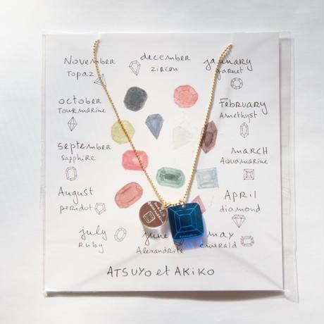 Birth Stone Nacklace / ATSUYO et AKIKO