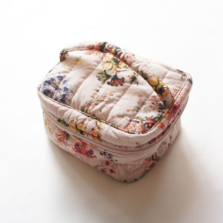 Toilet Bag (pink flower) / Christina Rohde