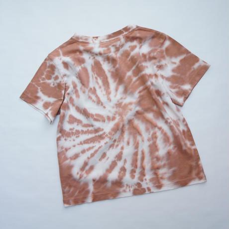TNS Tee Caramel Tie Dye / the new society