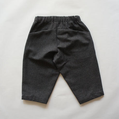check warm pants (charcoal/125.140) / MOUN TEN.