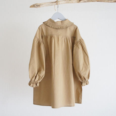 Pleated Collar Blouse (130-150) / EAST END HIGHLANDERS