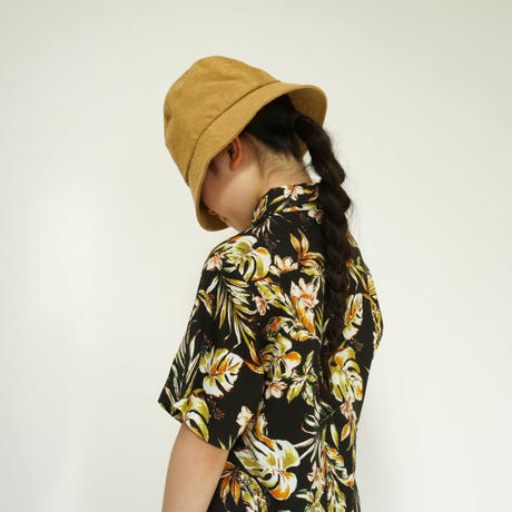 Flower Flamingo Shirt  / maed for mini