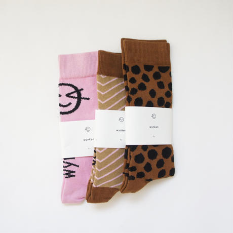 Wynken knee High Socks (mallow pink) / wynken