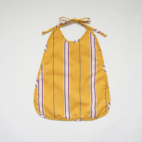 Meals Bib (yellow stripe) / Christina Rohde