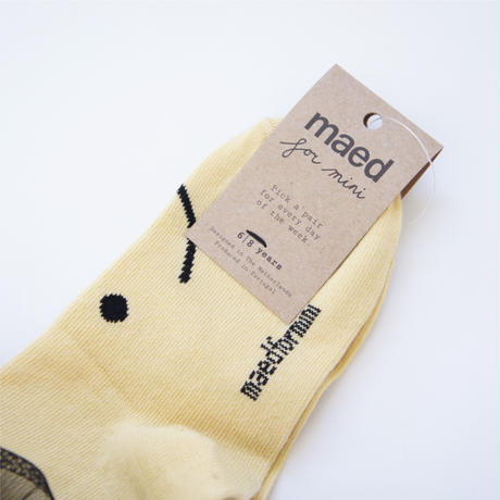 Smiling Suni Socks / maed for mini