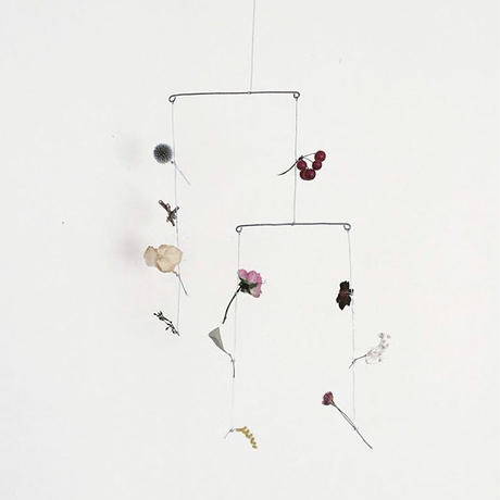 Dried flower mobile  // RUNI
