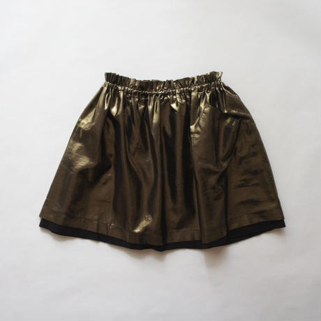 TONIA skirt + pocket (bronze) / treehouse