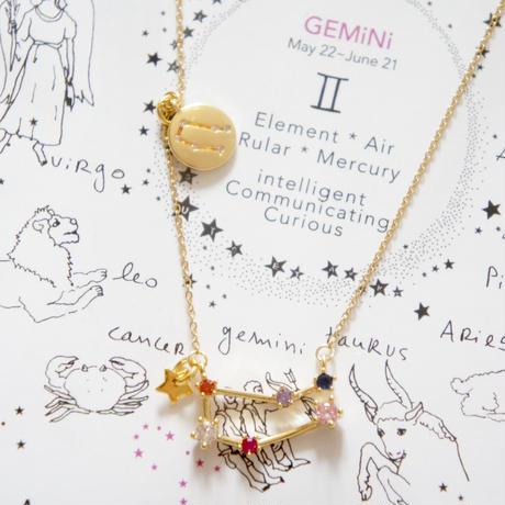 Zodiac Sign Nacklace / ATSUYO et AKIKO