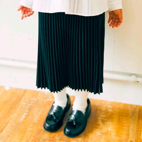 Pleated Skirt (black/130-150) / EAST END HIGHLANDERS