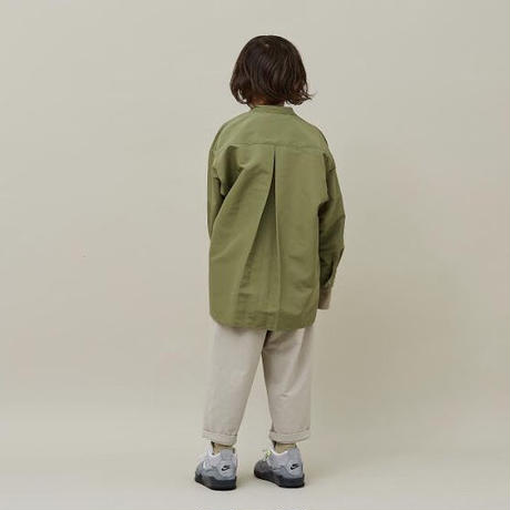 60/40 grosgrain big pocket shirts (olive) / MOUN TEN.