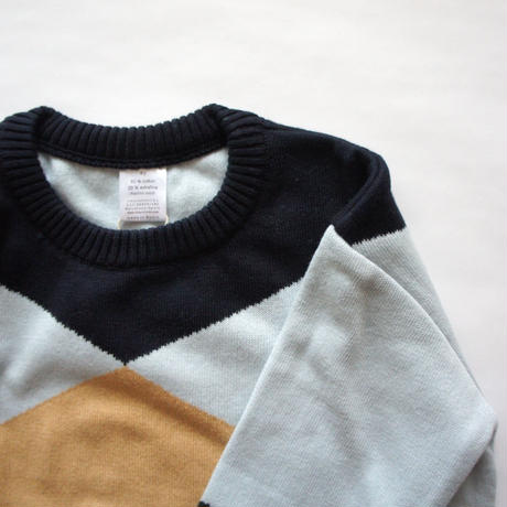 geometric sweater / tinycottons