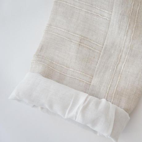 PIRO trousers (beige stripe) / ANJA SCHWERBROCK