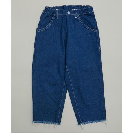Wide Cropped Denim (blue/125.140) / MOUN TEN.