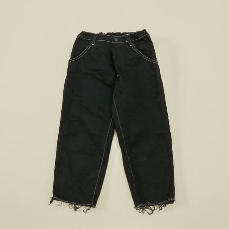 Wide Cropped Denim (black/size 0) / MOUN TEN.