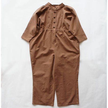 Neo jumpsuit (chocolate brown) / folkmade