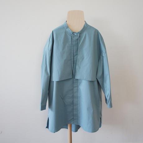 Flap Dress (greige,sax) / MOUN TEN.