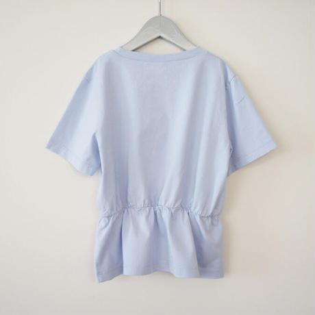 Dansent Frill Tee ( blue) /  wynken