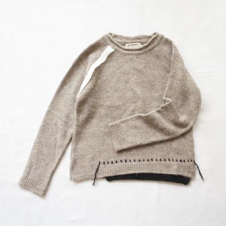 LORONI sweater (taupe) / ANJA SCHWERBROCK