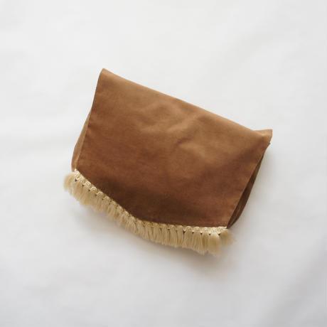 Diaper pouch ( chocolate x cream ) / in the park original