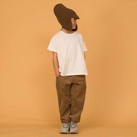 Corduroy Wide Cropped Pants (beige) / MOUN TEN.
