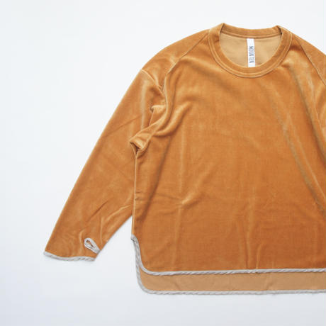 Velours Armcover T (blue,orange) / MOUN TEN.