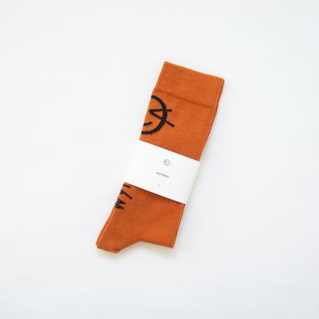 Wynken Socks (burnt orange) / wynken