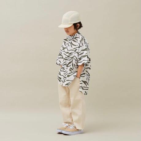 2tone Camo Shirts (khaki) / MOUN TEN.