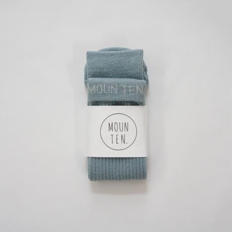 Logo Tube Socks (size free)/ MOUN TEN.